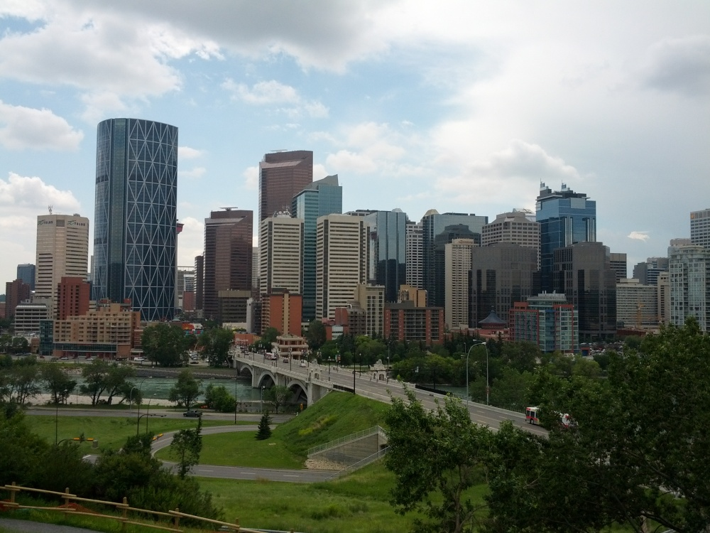 Beautiful city of Calgary.