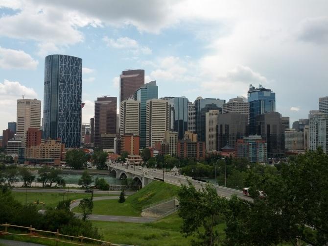 Beautiful city of Calgary.
